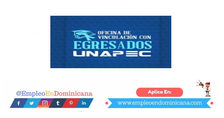 vacantes de empleos disponibles en EGRESADOS UNAPEC aplica ahora a la vacante de empleo en República Dominicana