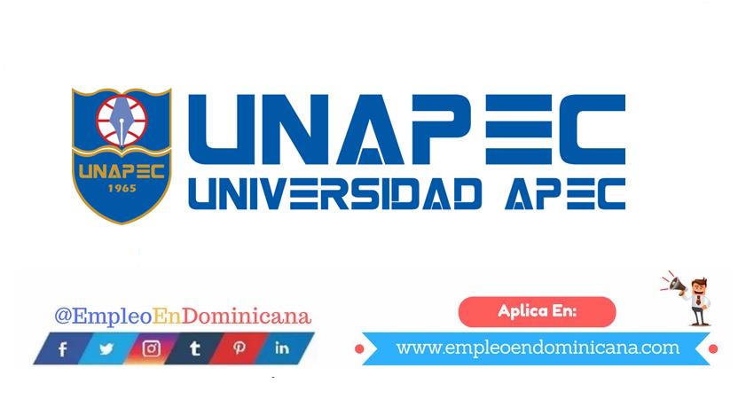 vacantes de empleos disponibles en UNAPEC aplica ahora a la vacante de empleo en República Dominicana