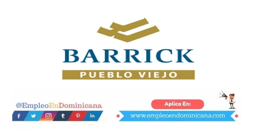 trabajar en Barrick Gold