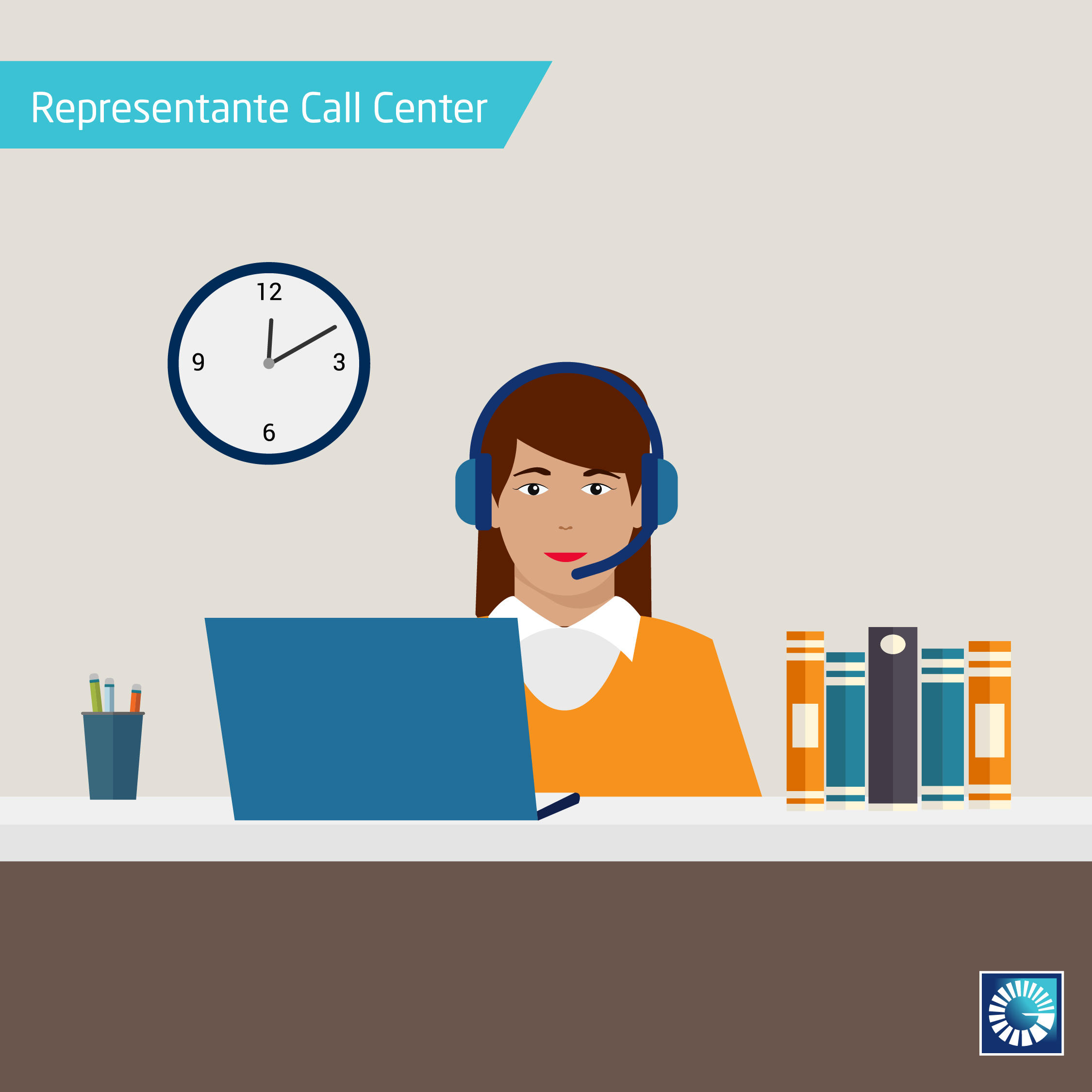 representante de call center en banco popular dominicano