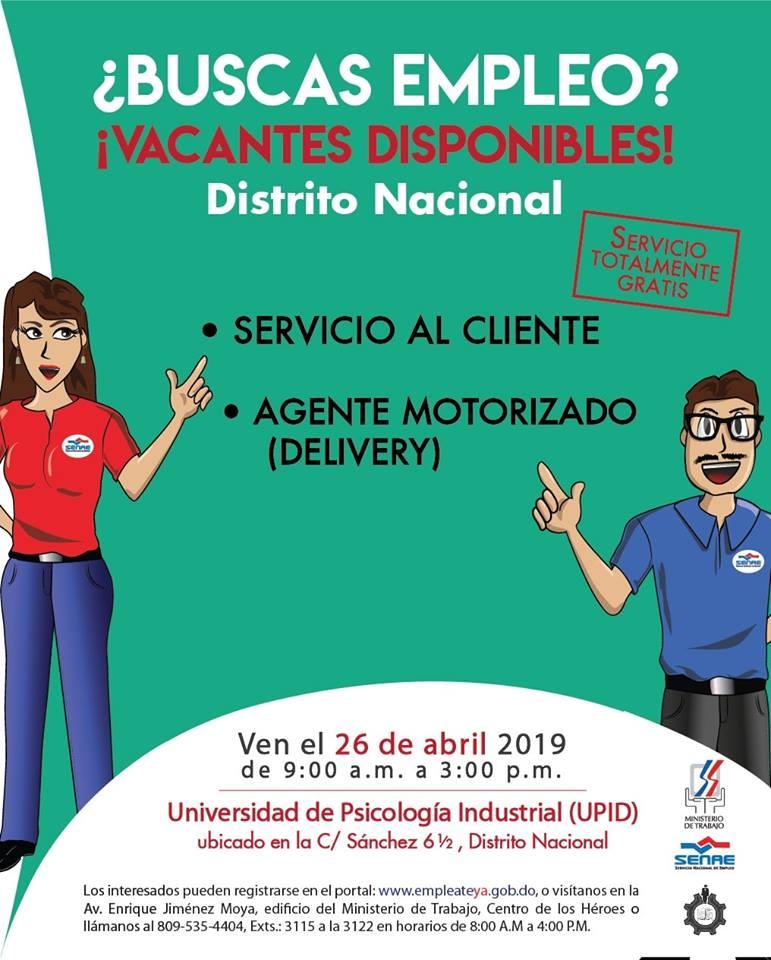 Feria de empleo Santo Domingo Distrito Nacional