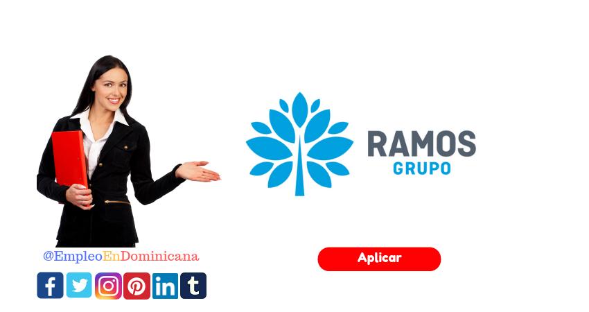Vacante de Empleos en Grupo Ramos aplica ya a la oferta de trabajo en santo domingo