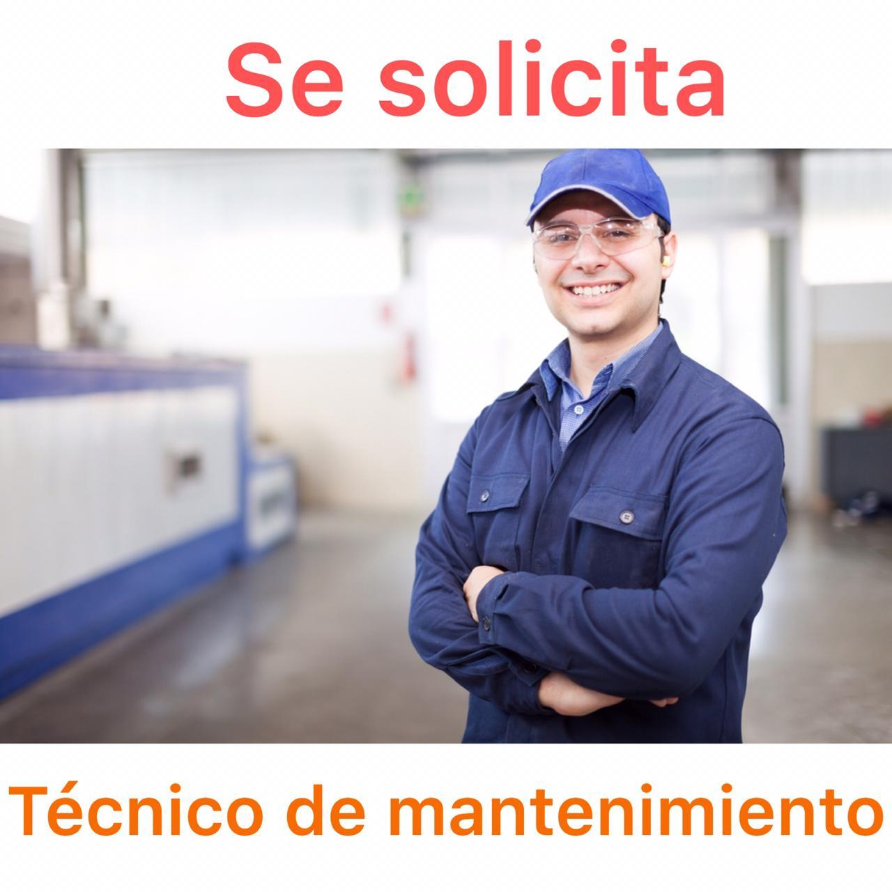 se busca técnico de mantenimiento