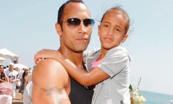 Así luce la hija de La Roca a sus 18 años de edad