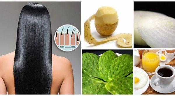 Remedios Naturales para combatir la caida del cabello en hombre y mujeres