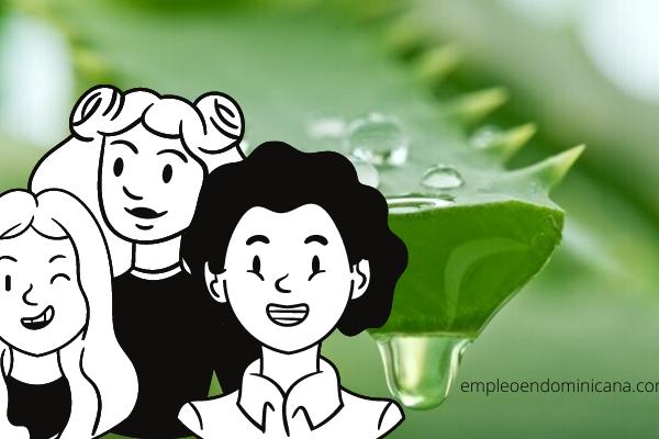 Mascarilla de sábila para fortalecer tu cabello
