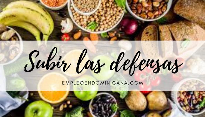 Alimentación: seis alimentos que te harán subir las defensas