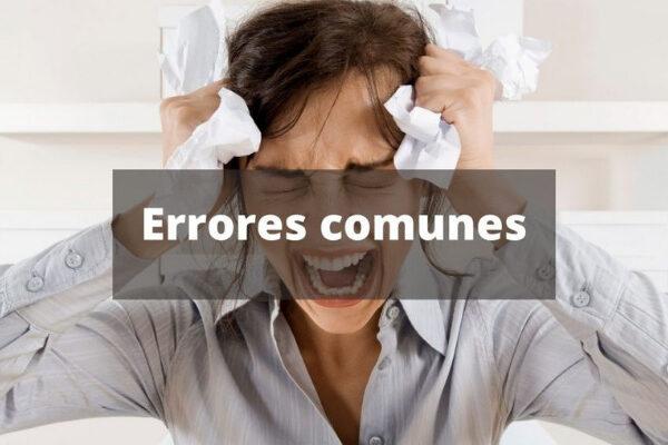 errores y fallos mas comunes en una entrevista de trabajo telefonica